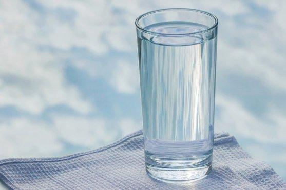 água de vidro, água, vidro