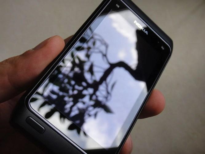 Tela de gorila de vidro Nokia N8