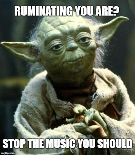 RUMINATING YOU ARE meme