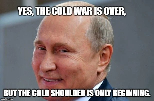but the Cold Shoulder is only beginning meme