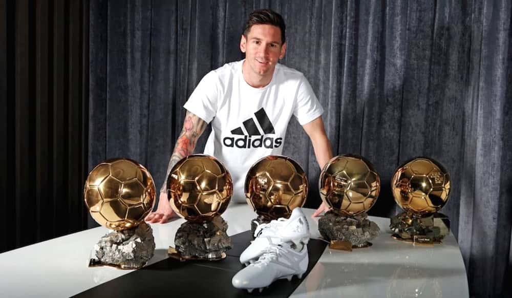 Messi 5 Ballon d'Or