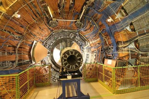 CERN, Genebra, acelerador de partículas