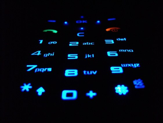 Teclado Celular Telefonia Números Chaves