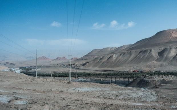 Garganta da mina de carvão com vista aberta (Bluesilent) s