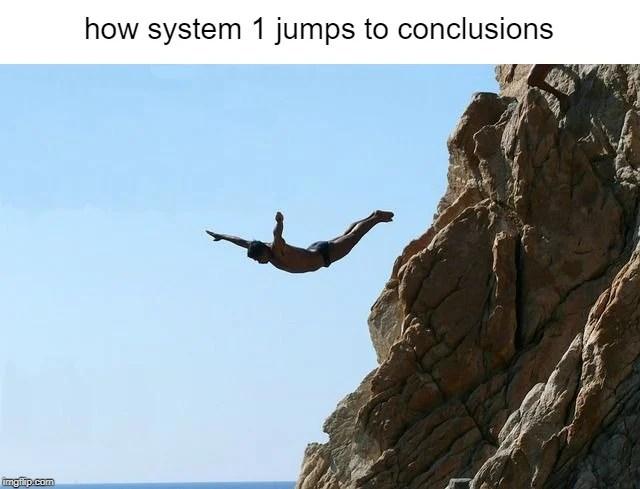 pule para conclusões meme mente