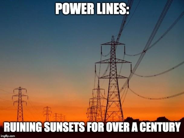 meme das linhas de energia