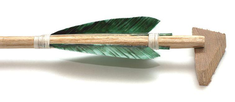 Fletching Arrow