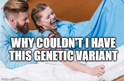 por que eu não poderia ter essa variante genética