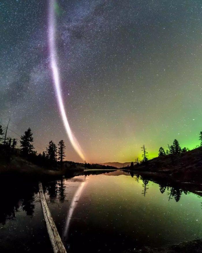 large aurora steve