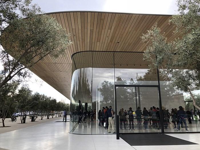 apple park visitor centre