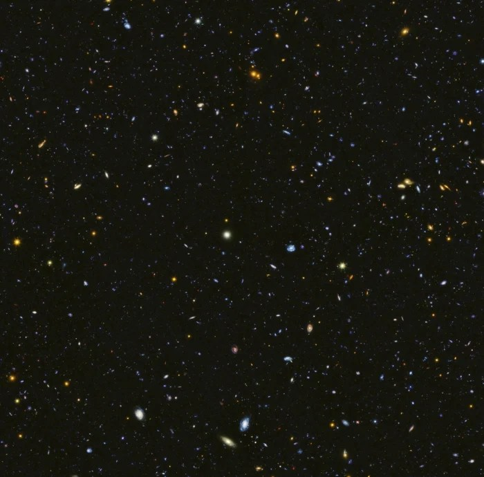 hubble has revealed a