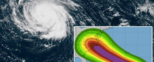 hurricane florence is becoming