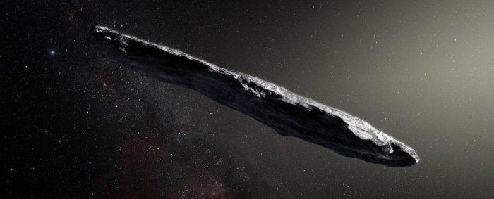 oumuamua extrasolar asteroid weird sail