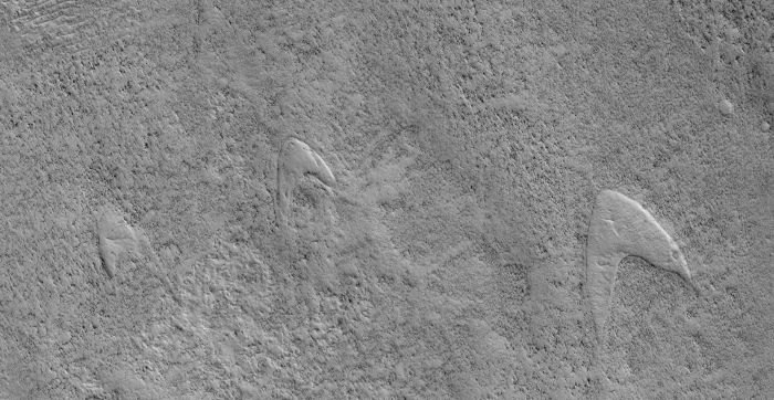 The Star Trek Starfleet Emblem Has Been Noticed on Mars