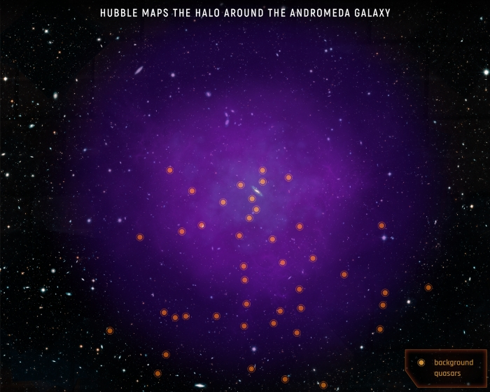 andromeda quasars