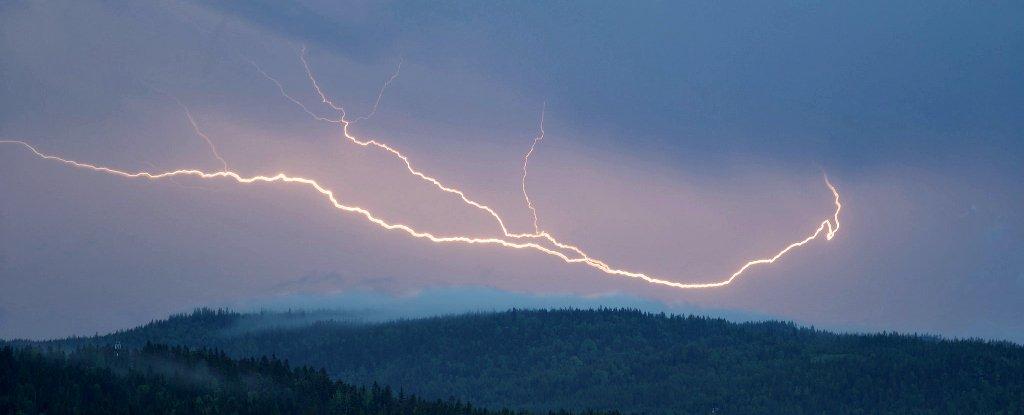 Oklahoma Had The Longest Lightning Strike On Record