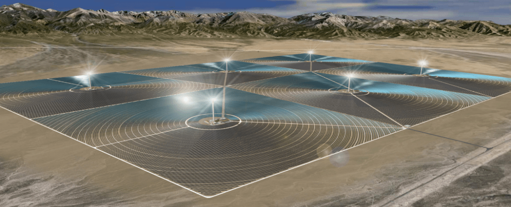 China is building its first largescale solar plant in the