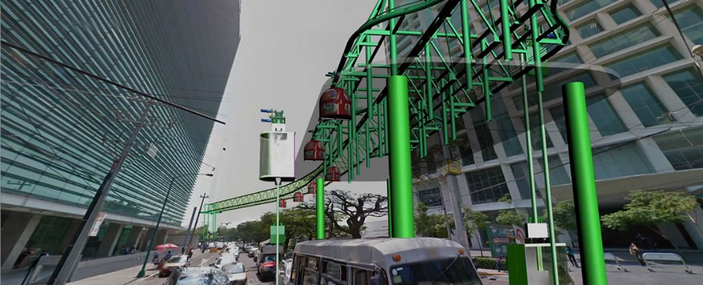 Floating Gondolas Could Be The Solution To Mexico City S