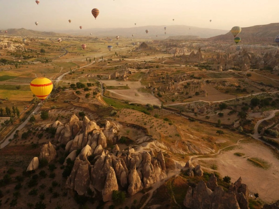 greme-national-park-and-the-rock-sites-of-cappadocia-is-a-volcanic-landscape-created-entirely-from-erosion-this-includes-pinnacles-nicknamed-fairy-chimneys-which-can-be-seen-across-this-region-of-turkey-meanwhile-the-cappadocia-valley-is-ho