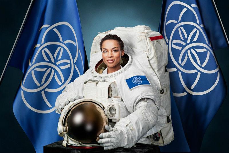 Astronaut portrait