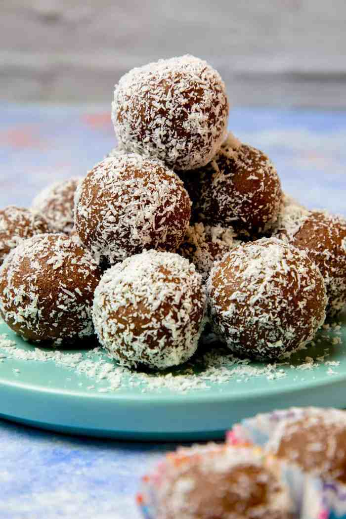 gluten free chocolate coconut balls