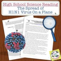 H1N1 Virus on a Plane High School Science Reading