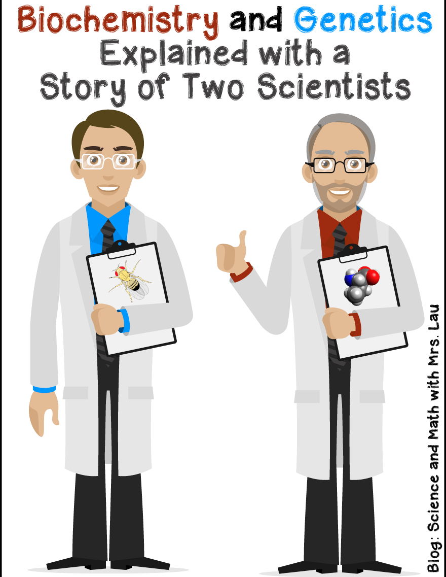 The Salvation of Doug and the Demise of Bill: What Genetics and Biochemistry Are All About