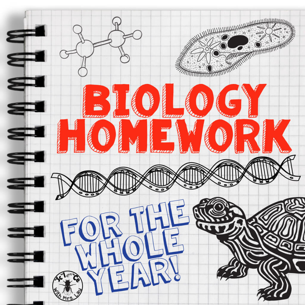 Biology Homework For The Whole Year Yes Please