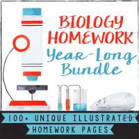 Biology Whole Year Worksheets