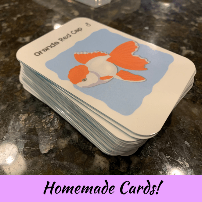 My very own card game deck