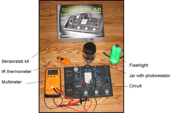 And Electricity Science Project Figure 1 A Rain Detector Circuit