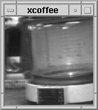 first webcam looking at a coffee pot