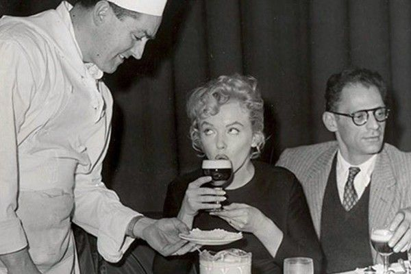 joe sheridan giving marilyn monroe irish coffee