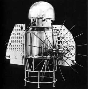 The Venera 1 space probe