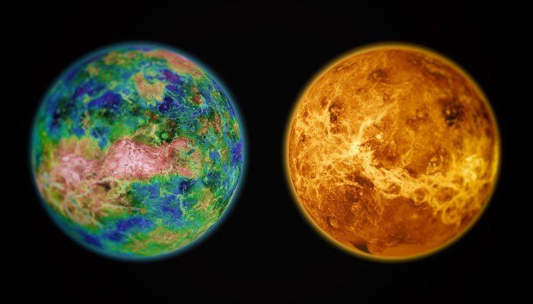 Venus as a paradise versus now