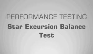 Star Excursion Balance Test