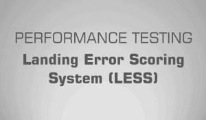 landing error scoring system (LESS) science for sport