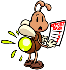 Why did the firefly get bad grades in school? science joke