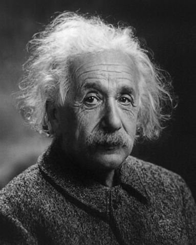 """Albert Einstein Head Cleaned N Cropped"" by Photograph by Oren Jack Turner, Princeton, N.J.Original image cleaned/leveled and cropped by User:Jaakobou. - This image is available from the United States Library of Congress's Prints and Photographs division under the digital ID cph.3b46036.This tag does not indicate the copyright status of the attached work. A normal copyright tag is still required. See Commons:Licensing for more information.العربية 