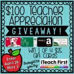 It's a Giveaway for Teacher Appreciation