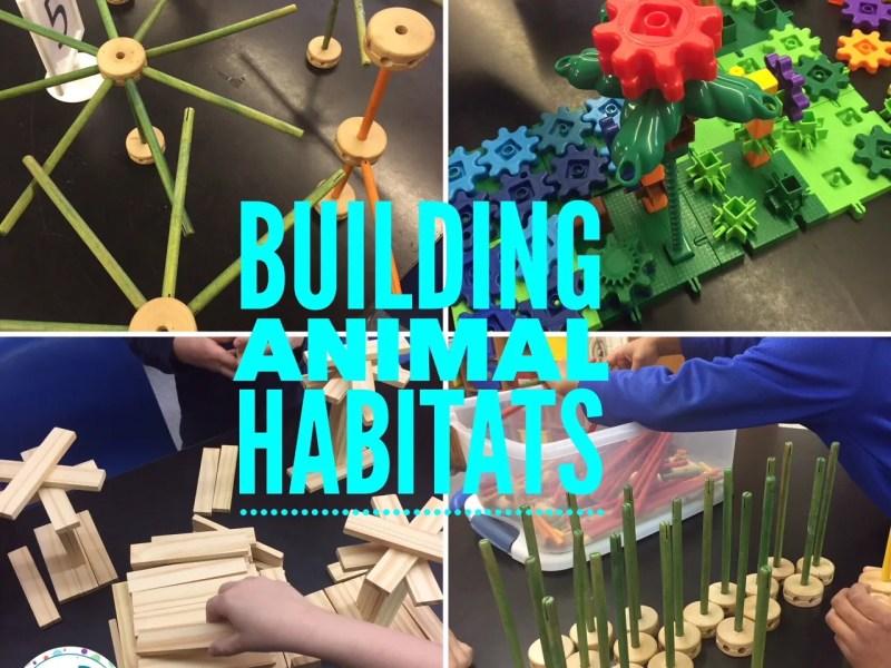 Building Animal Habitats with STEM Toys