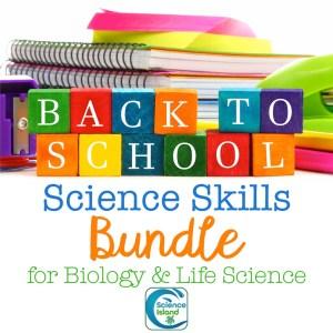 science skills bundle biology