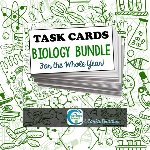 Task Card Bundle for Biology
