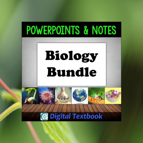 Biology Digital Textbook – PowerPoint Bundle