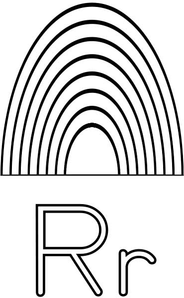 LETTER R COLORING PAGES « Free Coloring Pages
