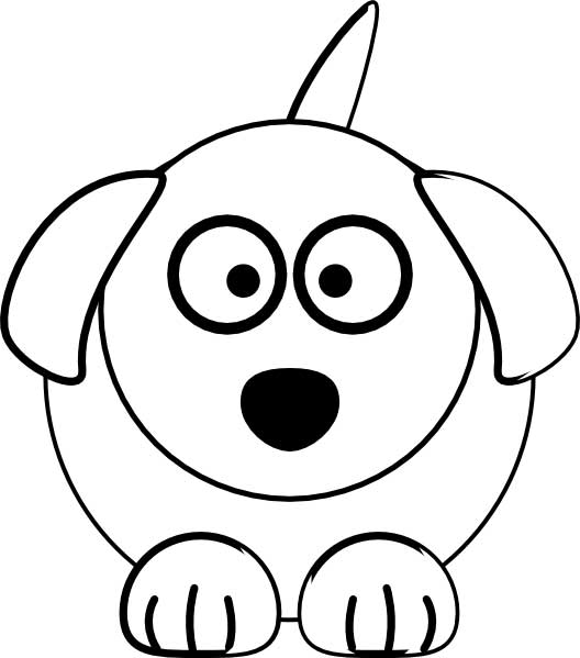 printable dog coloring pages # 67