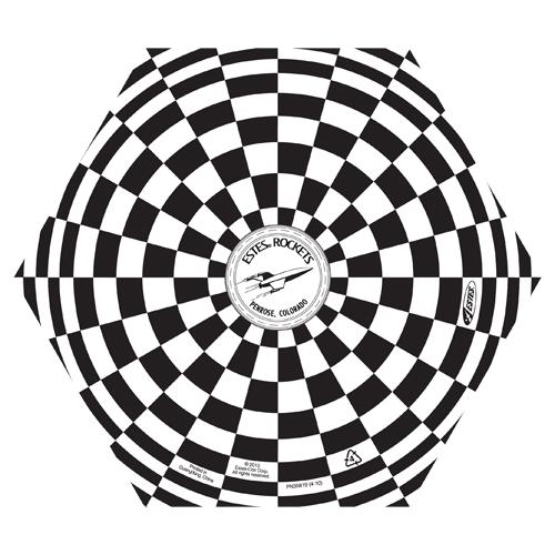 ES302262 6 Inch Printed Parachute