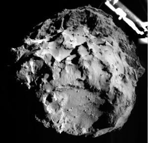 Image taken by the Philae lander during descent. Credit: ESA/Rosetta/Philae/ROLIS/DLR