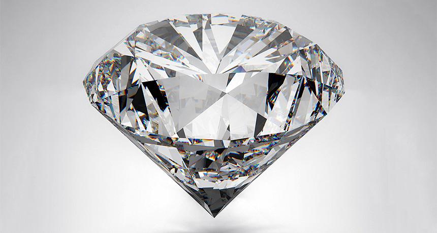 most diamonds share a