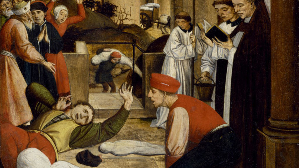 An ancient outbreak of bubonic plague may have been ...
